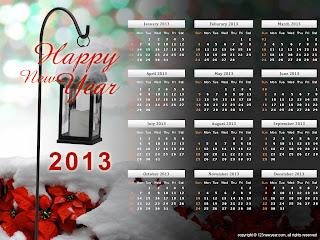Kalender 2013 Lengkap + Terbaru