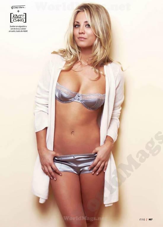 Kaley Cuoco Big Bang Theory Sem Roupa Nua Pelada