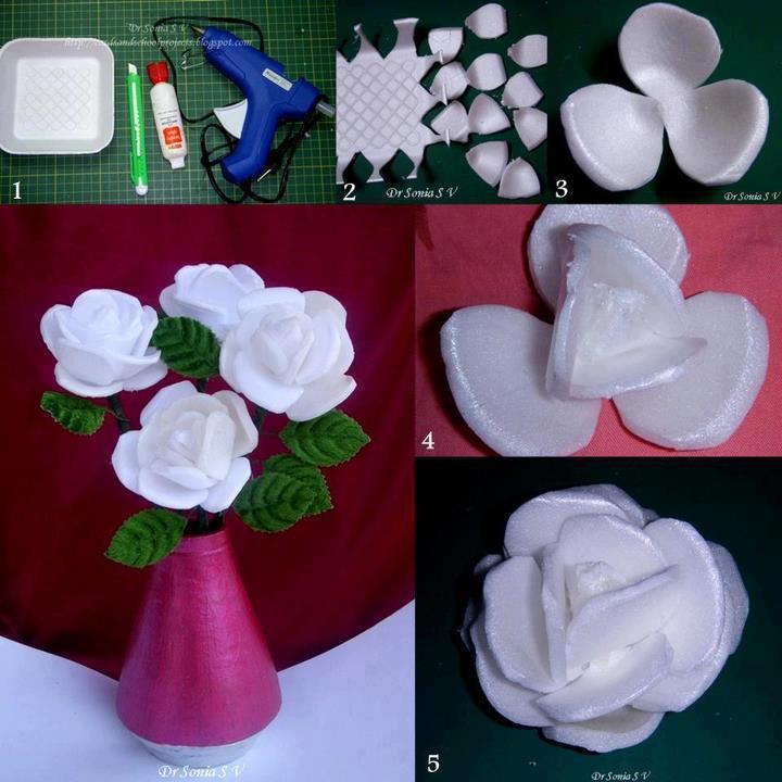 recyclage faire soi m me deuxi me vie d 39 objet r cup bouquet de fleur gratuit. Black Bedroom Furniture Sets. Home Design Ideas