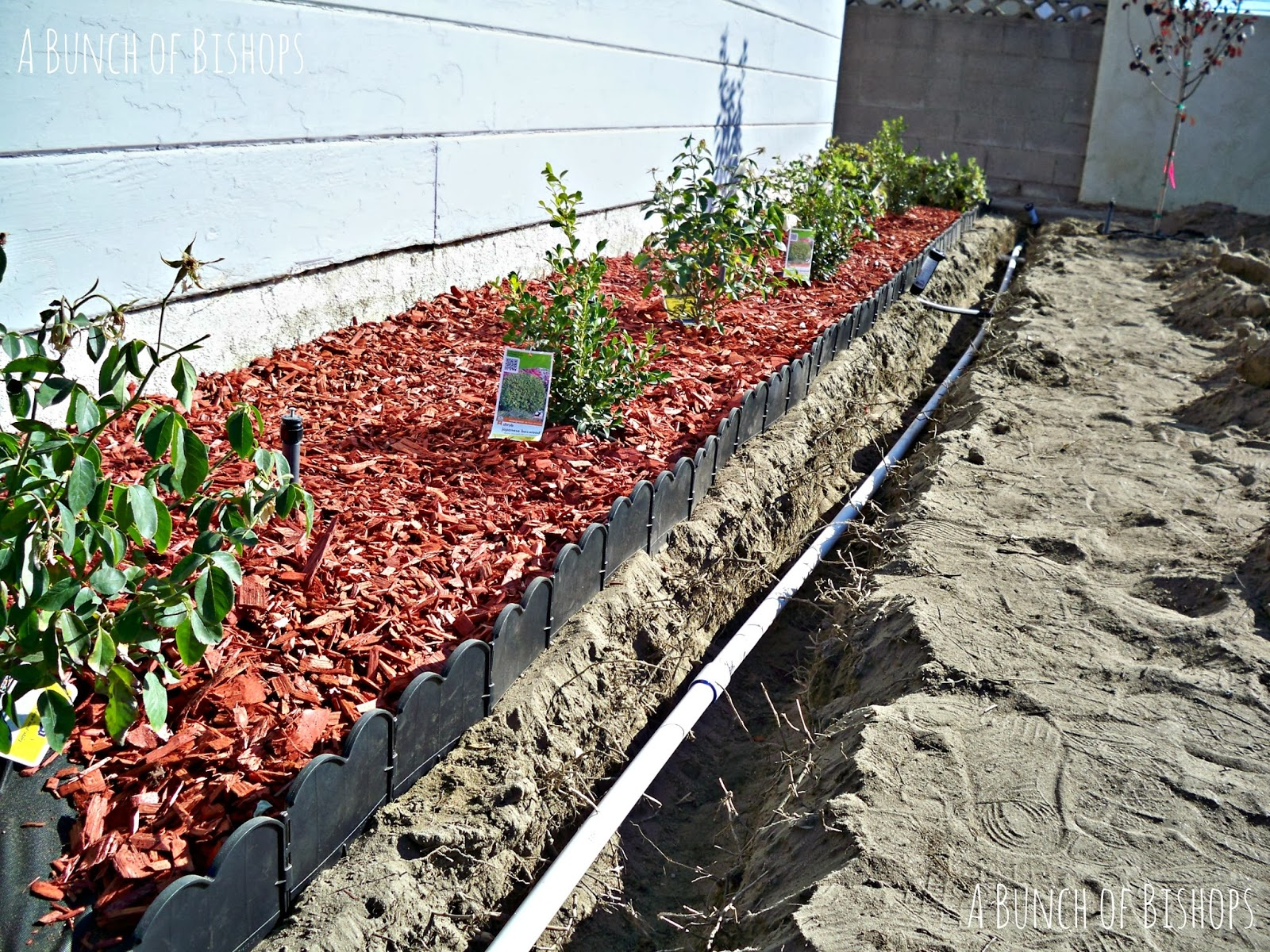 Brick Flower Bed Borders