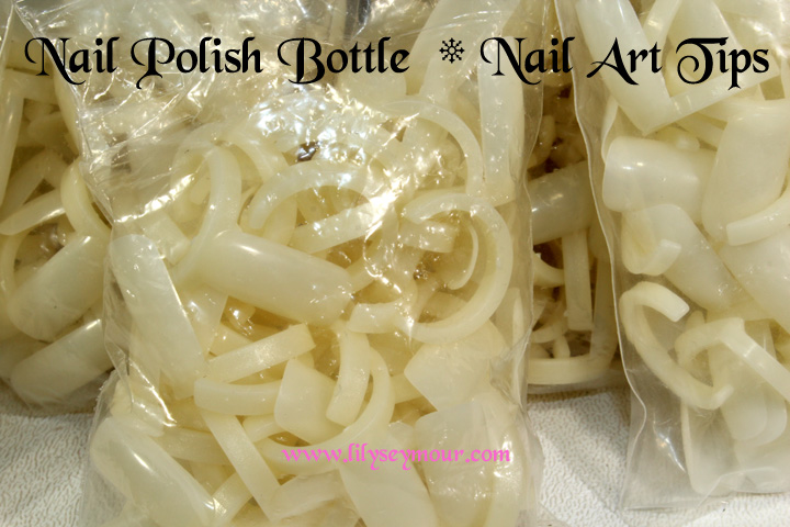 Nail Polish Bottle Nail Art Rings from eBay
