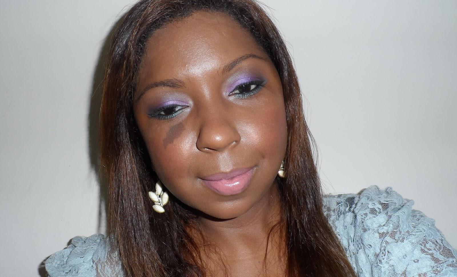 Maquiagem-Lilás-e-azul-Usando-Sombras-Tokidoki-Maquiagens-que-eu-amei-em-2013