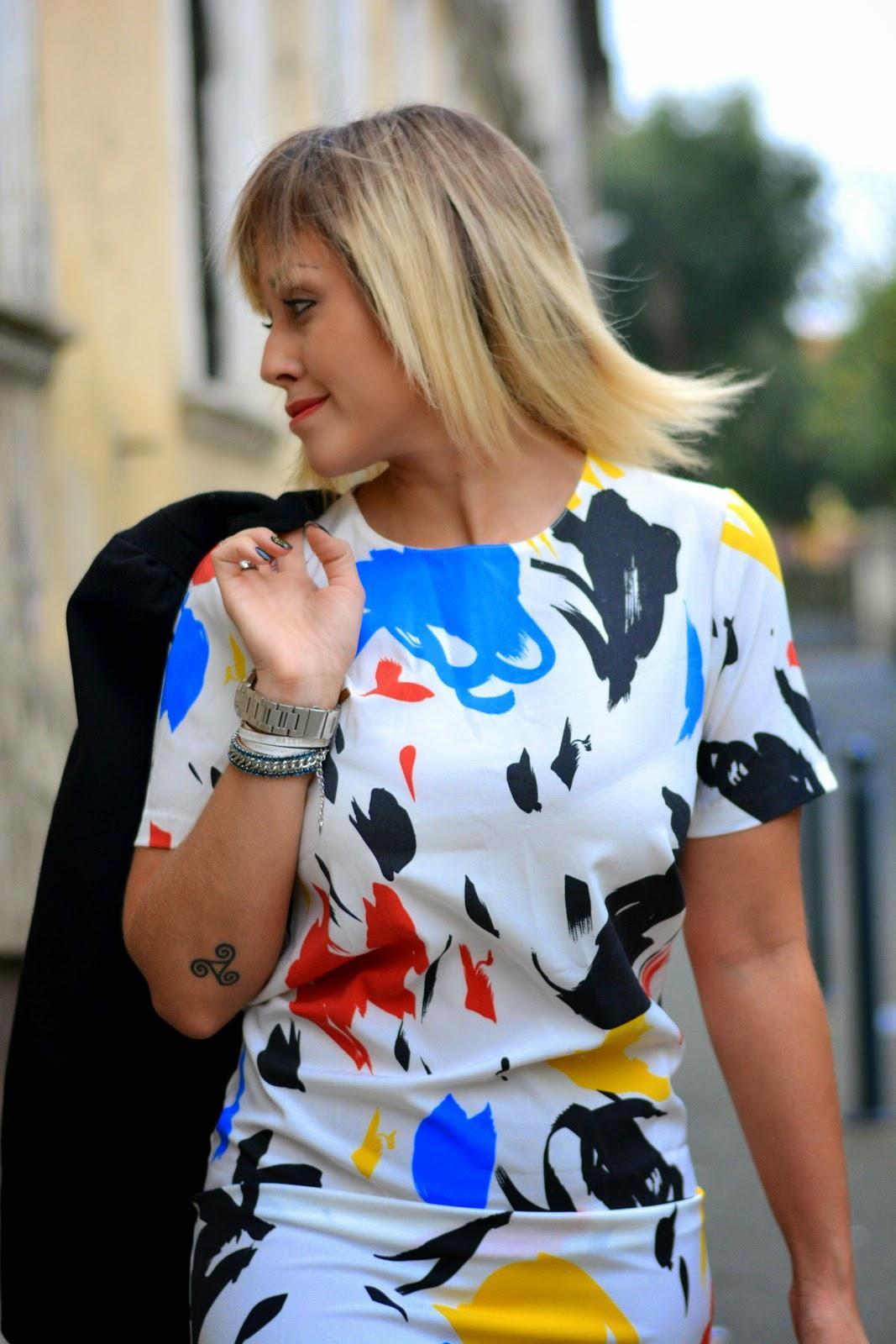 Graffiti Dress - Outfit - Culture & Trend - Jessica Neumann