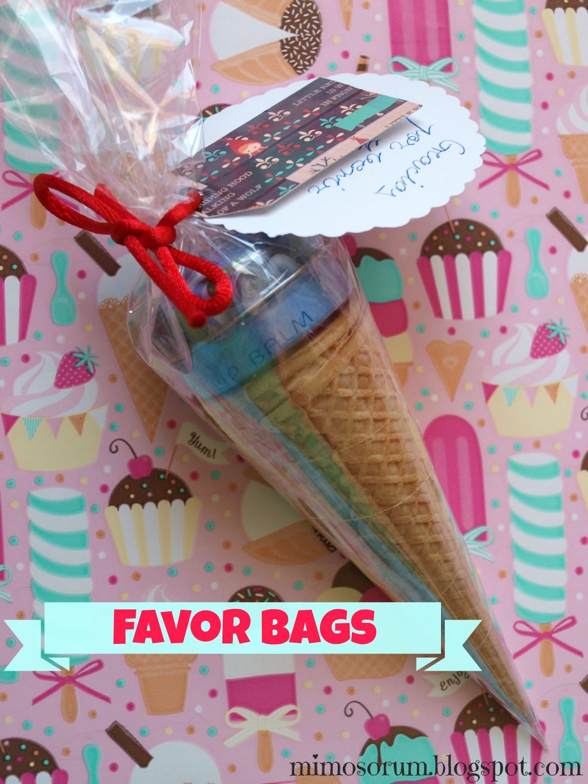 Favor Bags. Mimosorum
