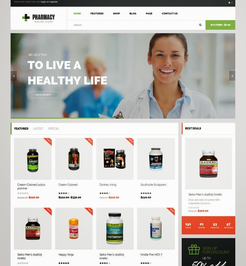 Pharmacy – WooCommerce WordPress Responsive Theme
