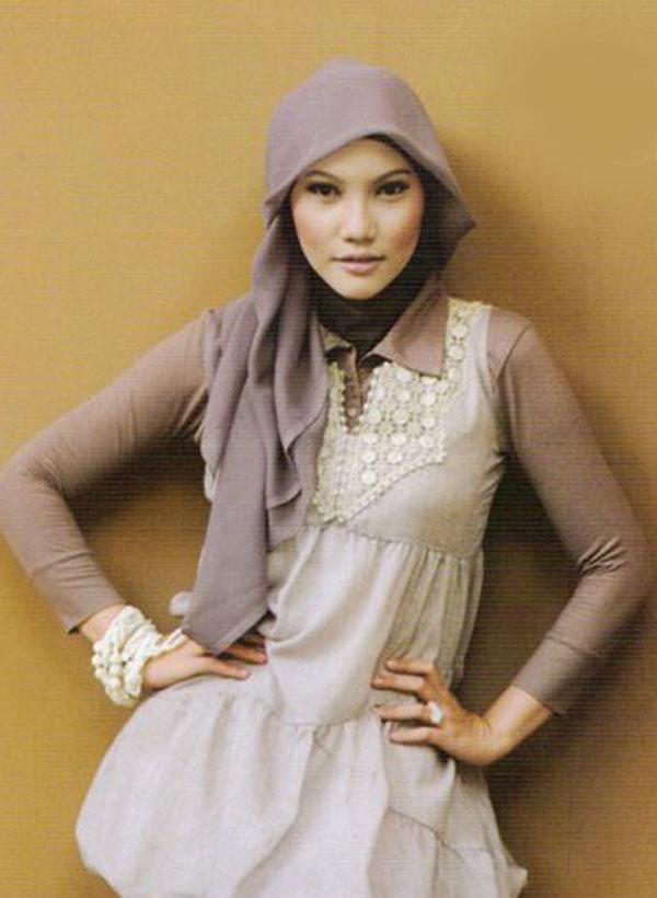 Cara Memakai Jilbab Korean Style Tutorial Hijab