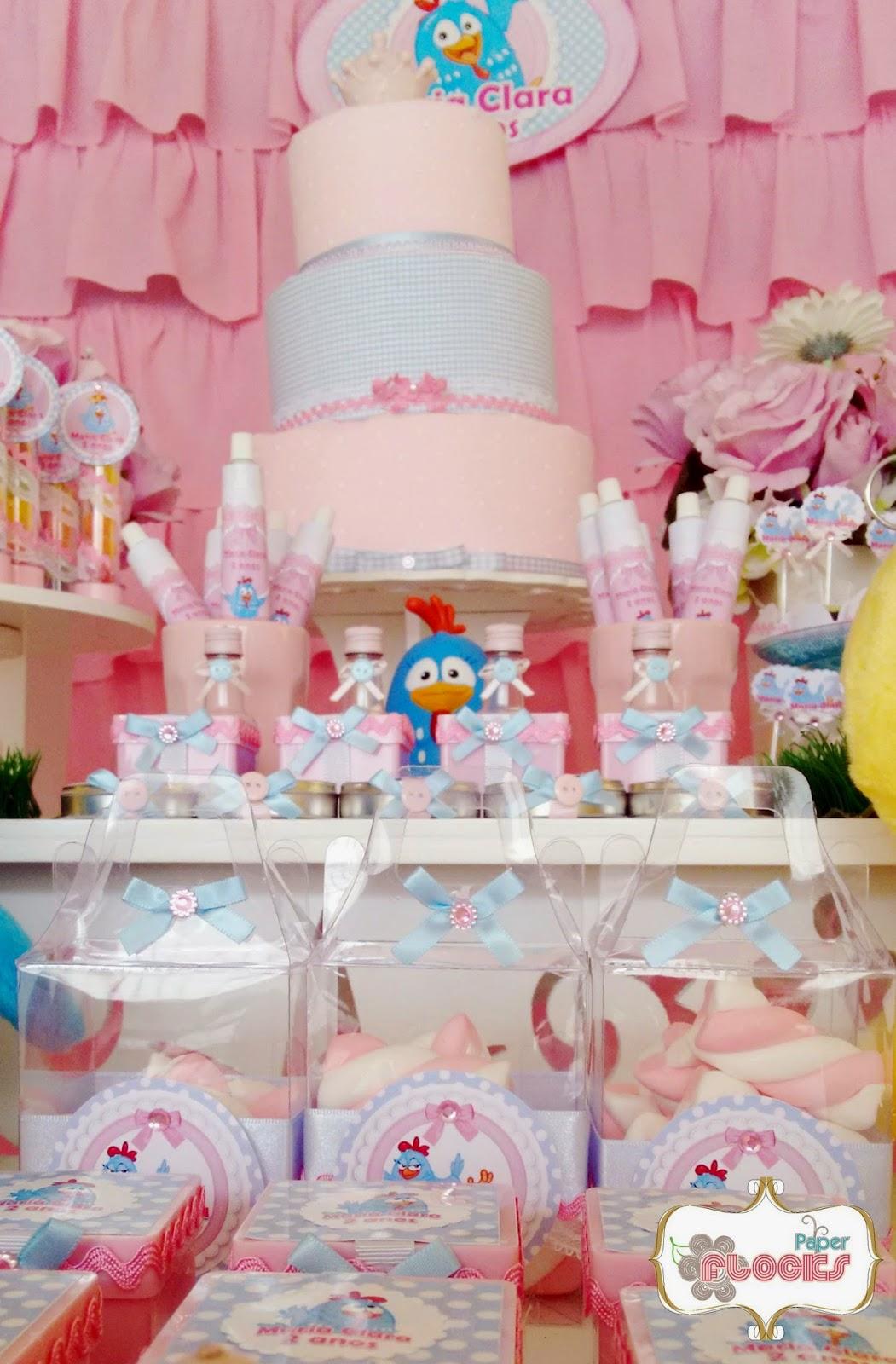 decoracao festa galinha pintadinha rosa: Clarinhafez2 – Galinha Pintadinha rosa e azul – Maria Clara 2 anos
