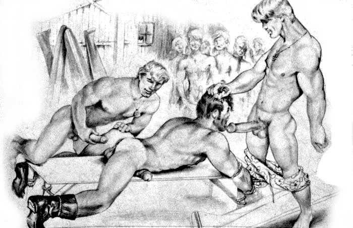 gay men having sex and orgasams