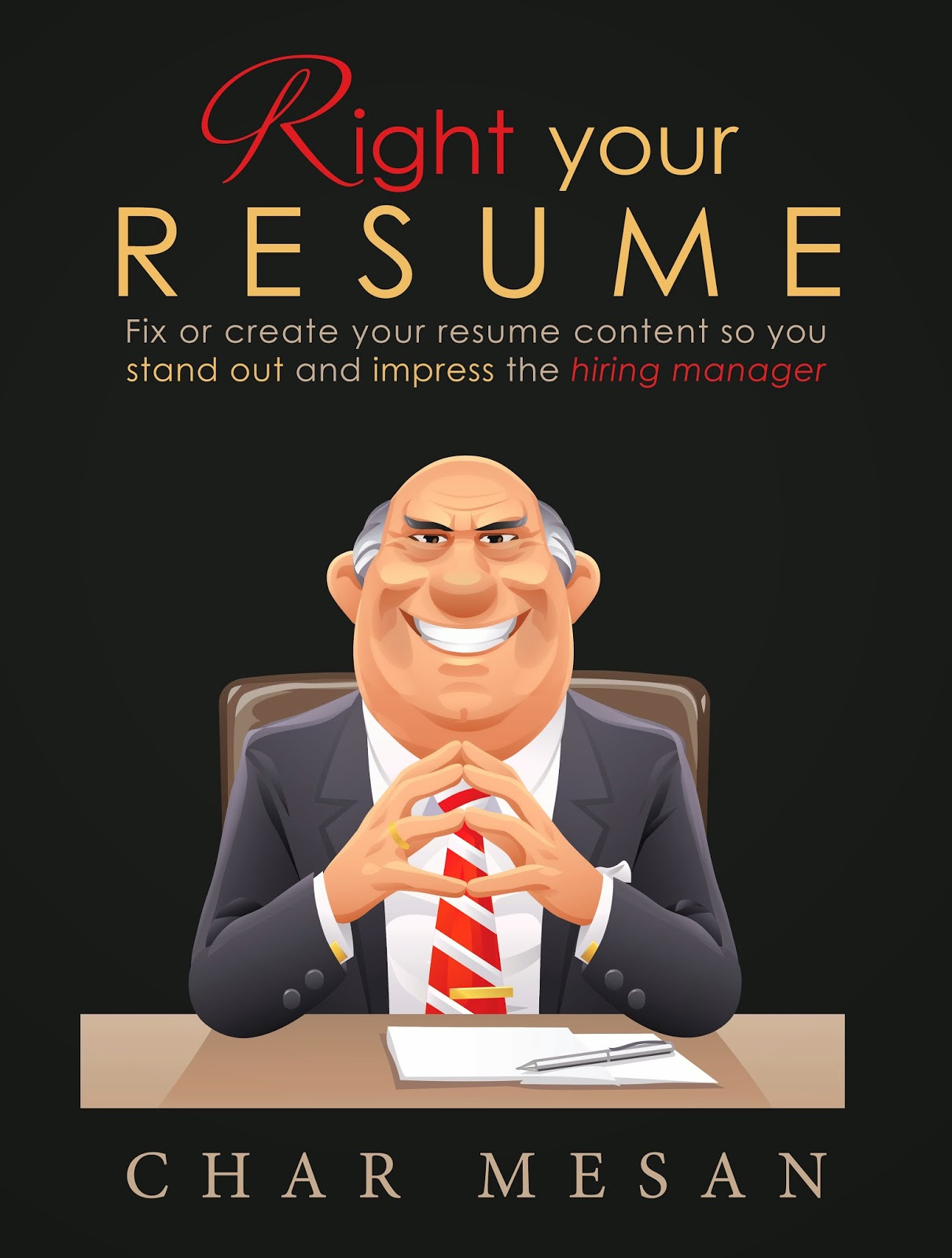 Check out Right Your Resume now