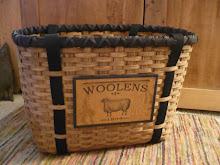 Rug Hooking Tote Basket