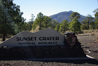 Sunset Crater N.M., Wupatki N.M. and Walnut Canyon N.M.