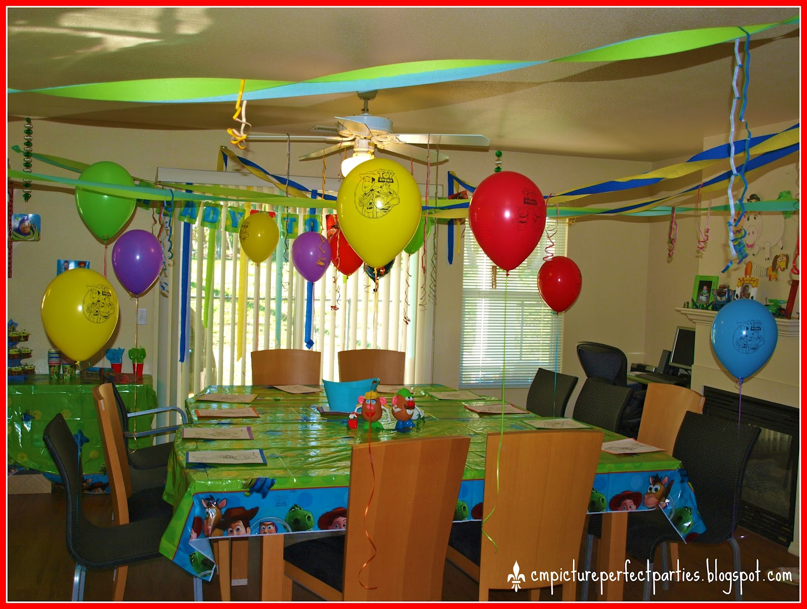Toy Story Party Ideas Decorations : Measurements of merriment toy story birthday party