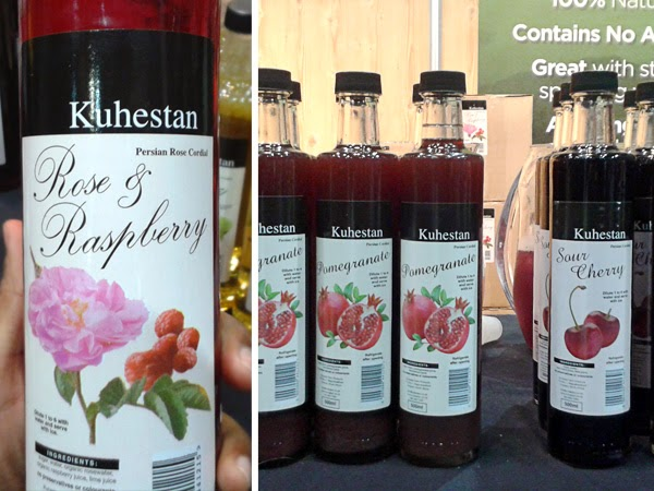Happiness is... Durban Good Food & Wine Show 2014 - Kuhestan Cordials