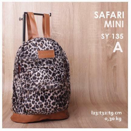 jual online tas ransel mini motif safari terbaru harga terjangkau