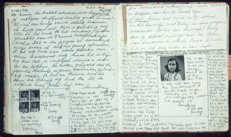 anne frank stories and essays