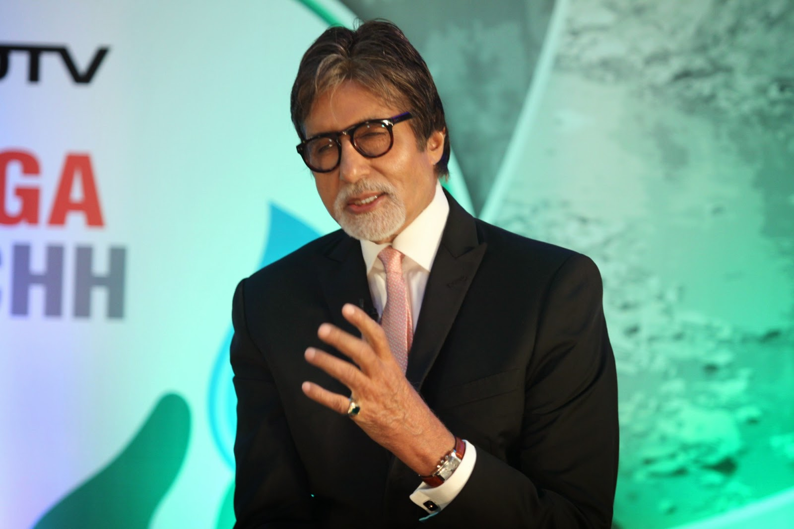 Amitabh Bachchan At Launch Of Dettol Banega Swachh India Initiative