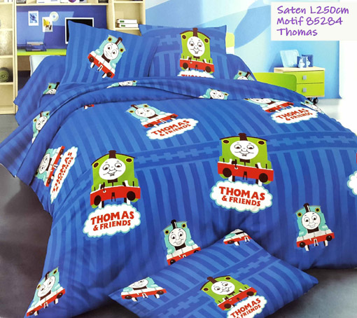 Sprei Anak Motif Thomas dan Friends