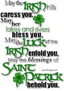 Bendición Irlandesa