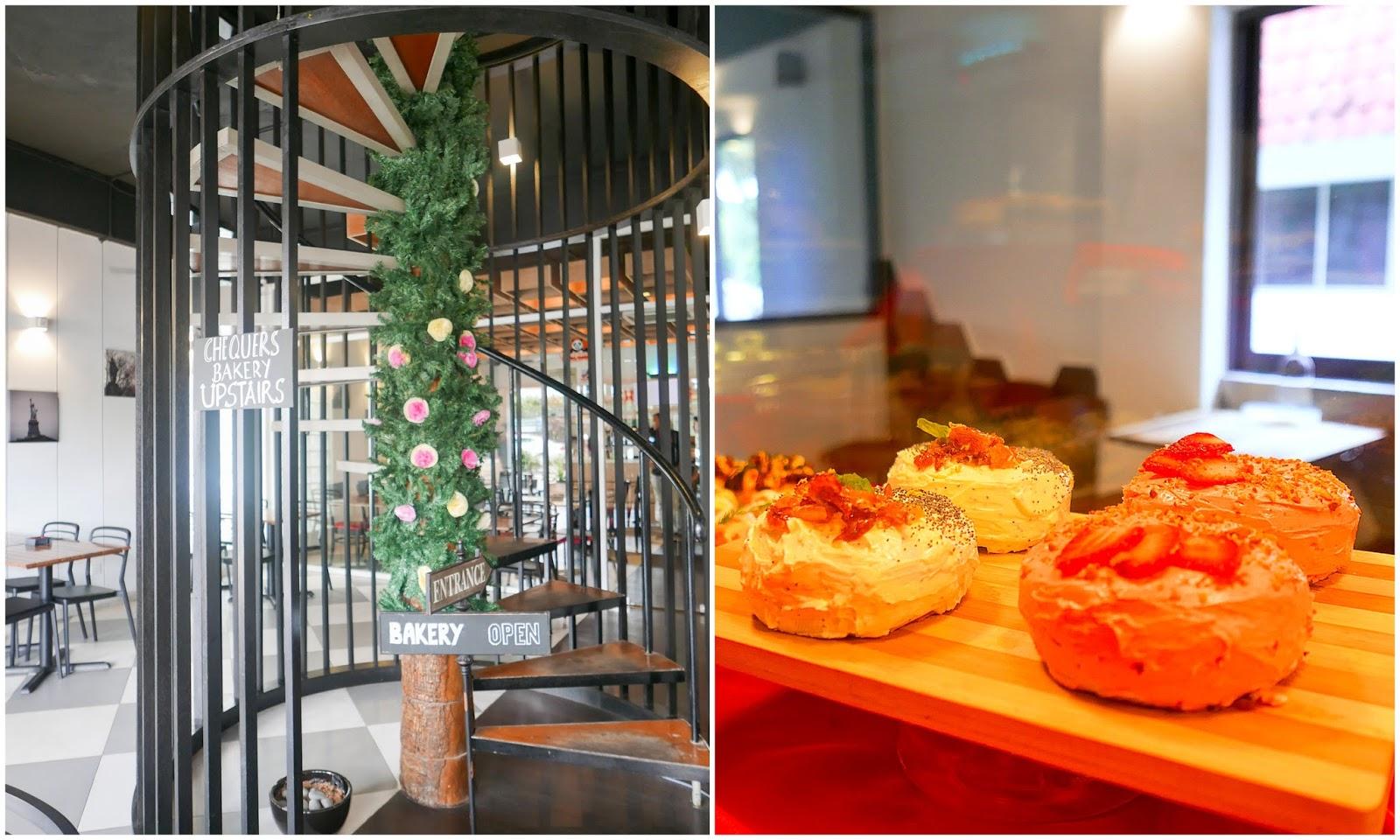 gourmet doughnuts @ chequers bakery, ttdi