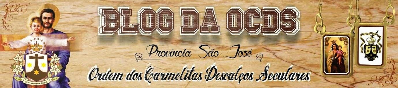 BLOG DA O.C.D.S.- PROVÍNCIA SÃO JOSÉ