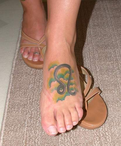 Pinkbizarre Leo Tattoo Designs For Girls
