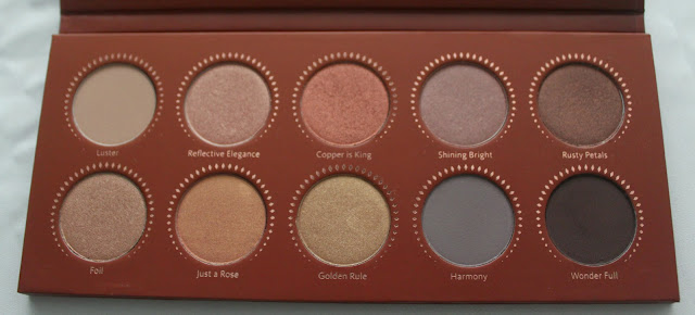 ZOEVA EYE SHADOW PALETTE - ROSE GOLDEN