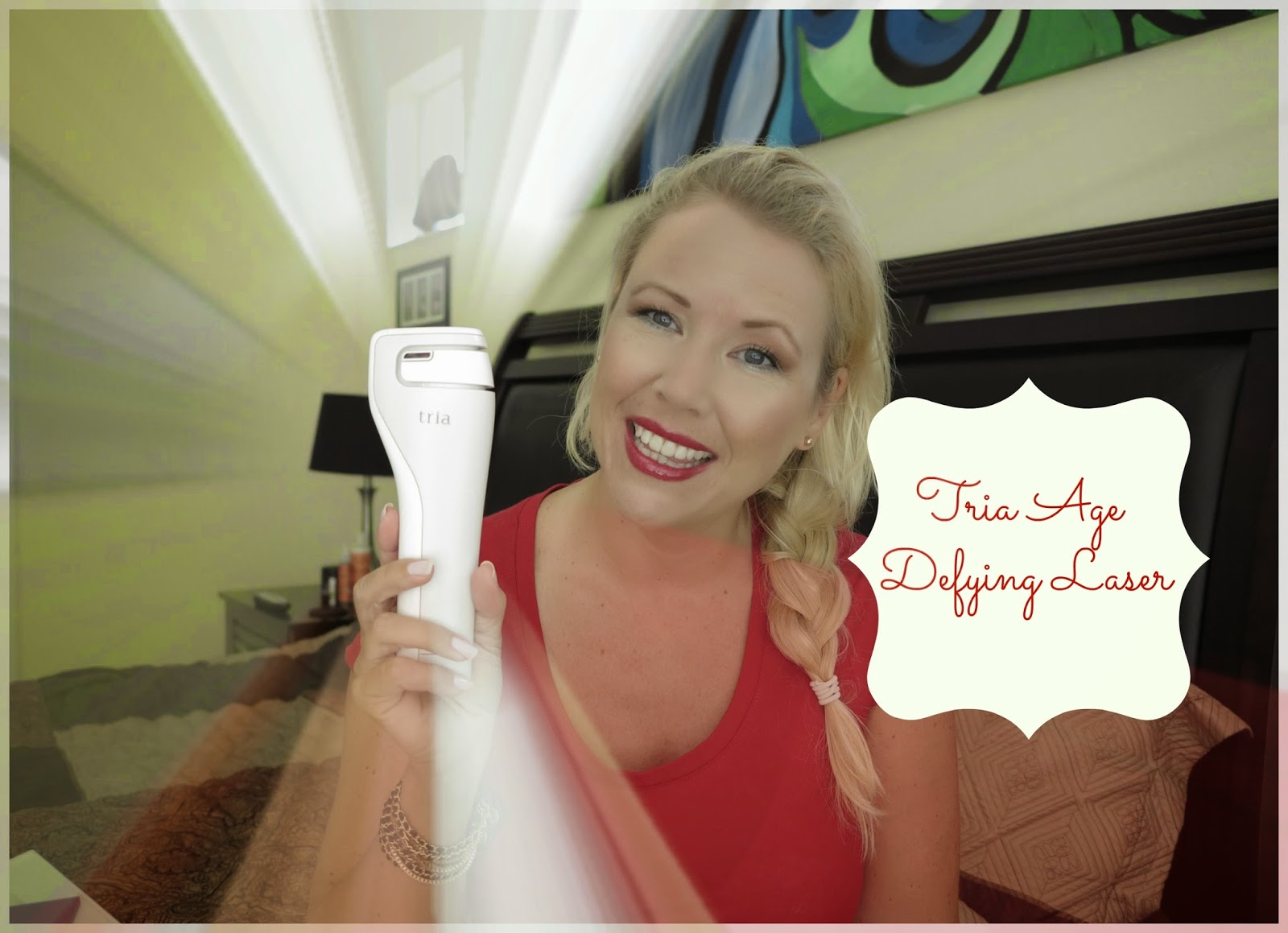 how to use tria age defying laser