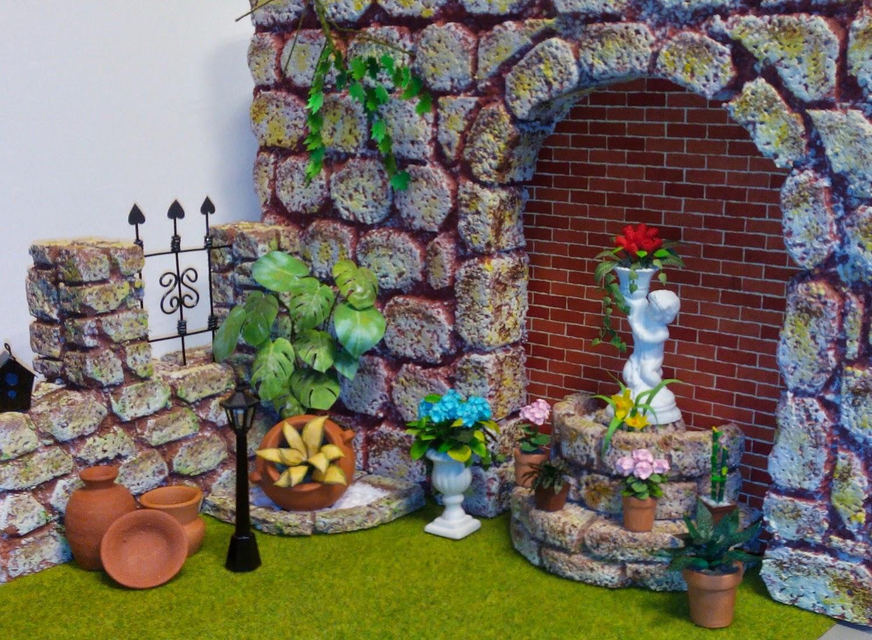 Las miniaturas de eugenia un peque o jardin for El jardin de eugenia
