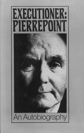 Book Cover - Executioner Pierrepoint - An Autobiography