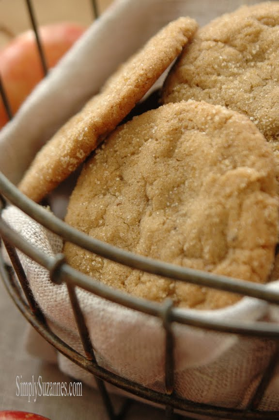 pumpkin spice brown butter cookies