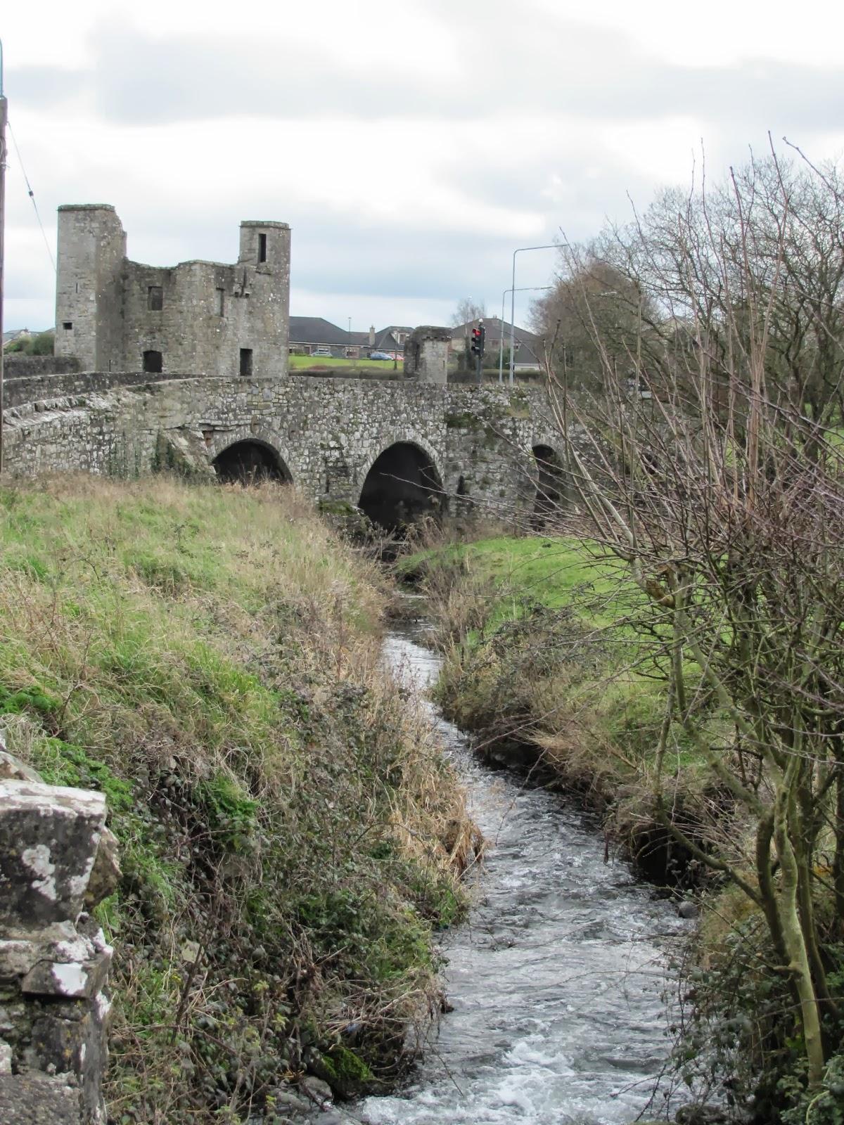 Narrow Road Bridge in Trim, Ireland
