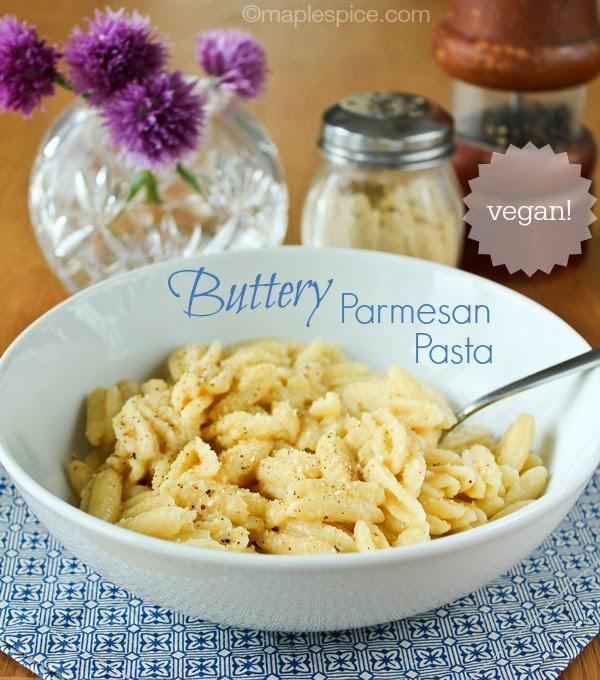 Vegan Buttery Parmesan Pasta