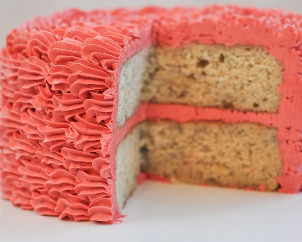 Beki cook 39 s cake blog cake decorating basics easy ruffle - Banana cake decoration ...