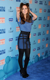 Eliza Dushku at Perez Hilton's Birthday Party