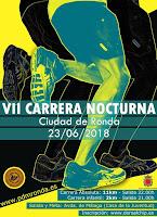 CARRERA NOCTURNA DE RONDA - RUTA SENDERISTA NOCTURNA