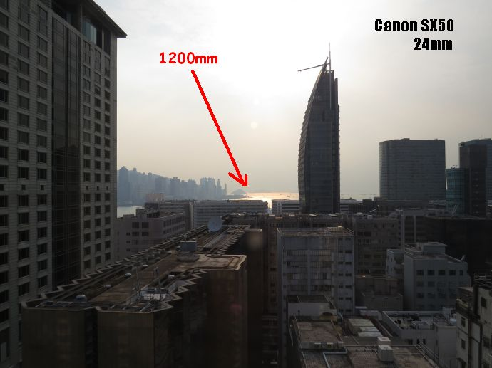 Canon sx50 hs lo que significa tener 1200mm