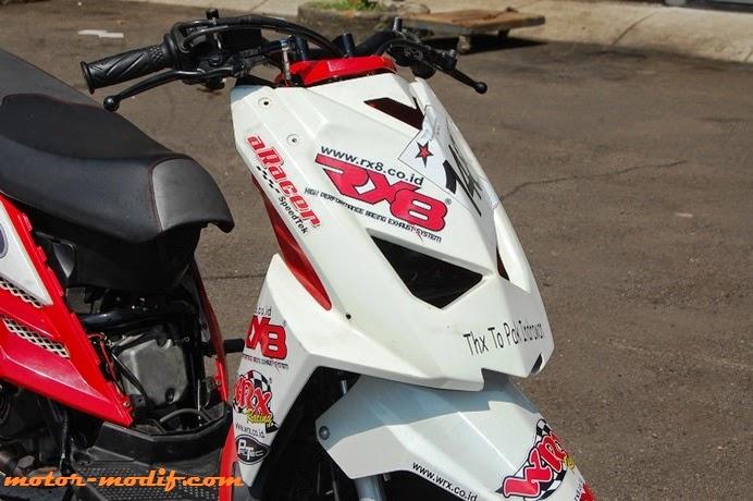 Galeri Foto Modif Motor Yamaha X Ride 2013: Spek Balapan