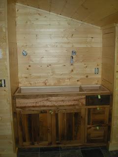 reclaimed Oak cabinets slate floor http://huismanconcepts.com/