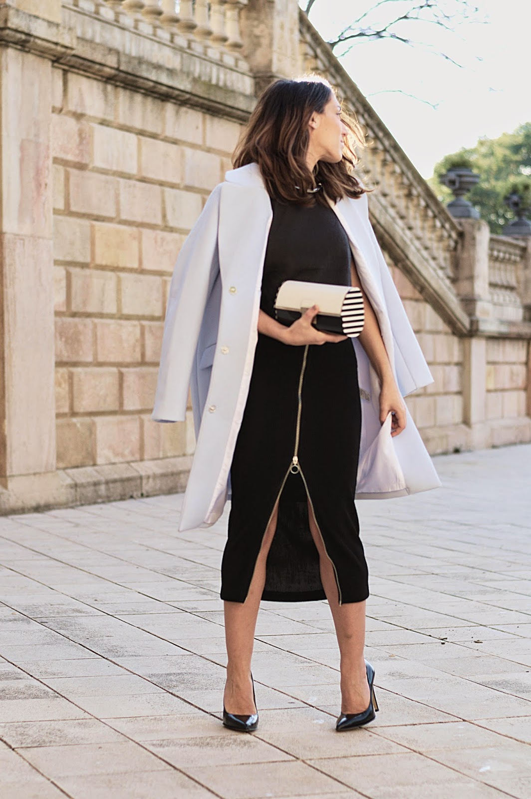 Total Look H&M, clutch Marc Jacobs