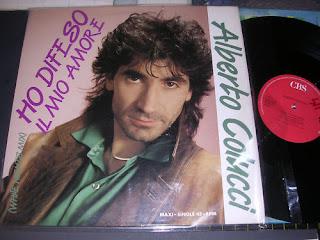 ALBERTO COLUCCI - Ho Difeso Il Mio Amore ,Vinyl 12\
