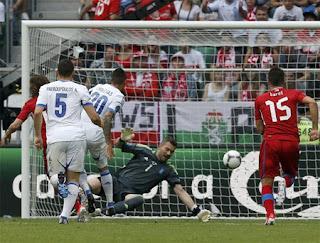 Euro 2012 CH Séc Và Hy Lạp Thắng 2-1