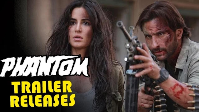 'Phantom' Trailer ft. Katrina and Saif Video HD