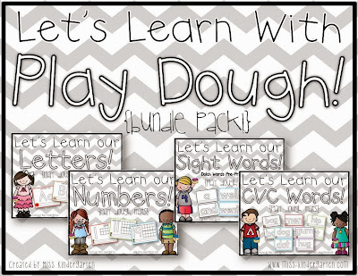 http://www.teacherspayteachers.com/Product/Lets-Learn-With-Play-Dough-bundle-pack-972349