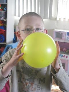 ballon rocket