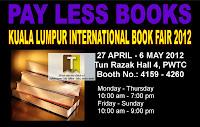 Pay Less Books Fair KLIB 2012