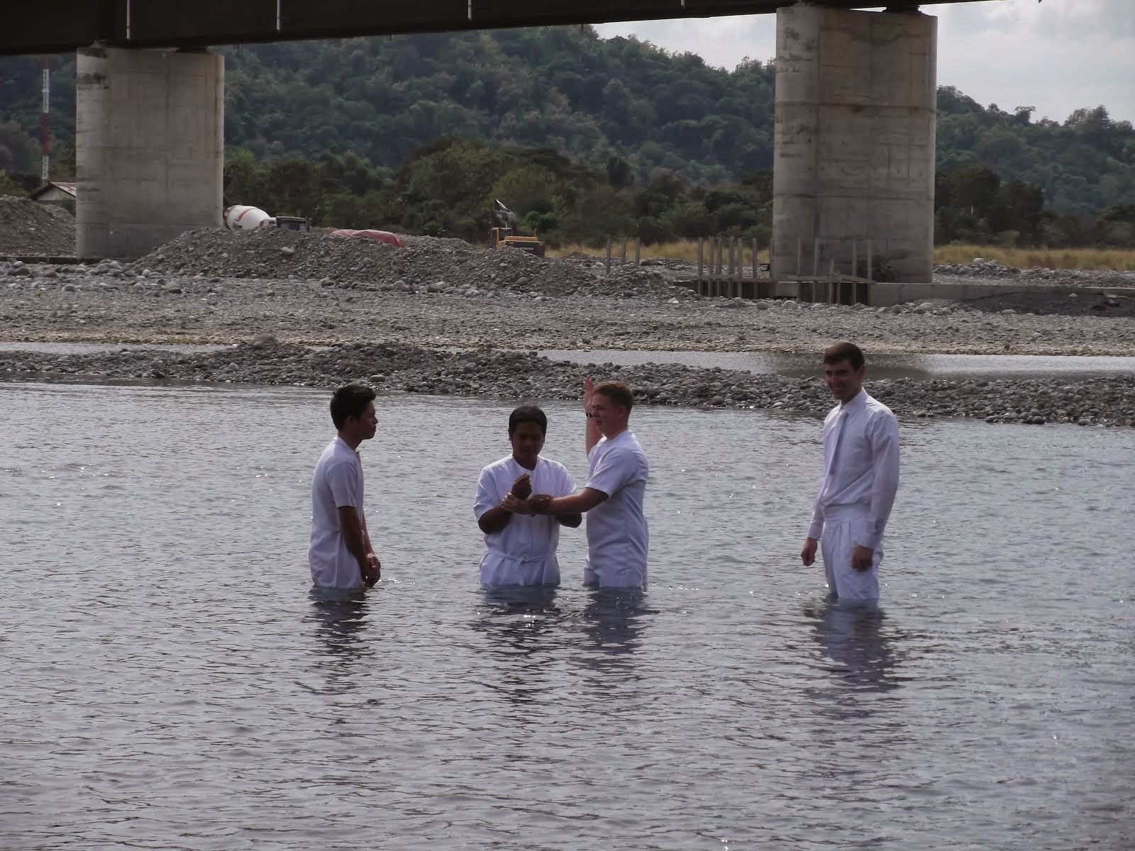 Mac Baptism with Other ELder