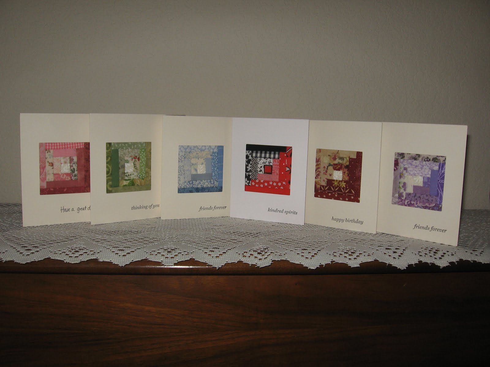 Quilting Frame of Mind: More Quilted Cards : quilted cards - Adamdwight.com