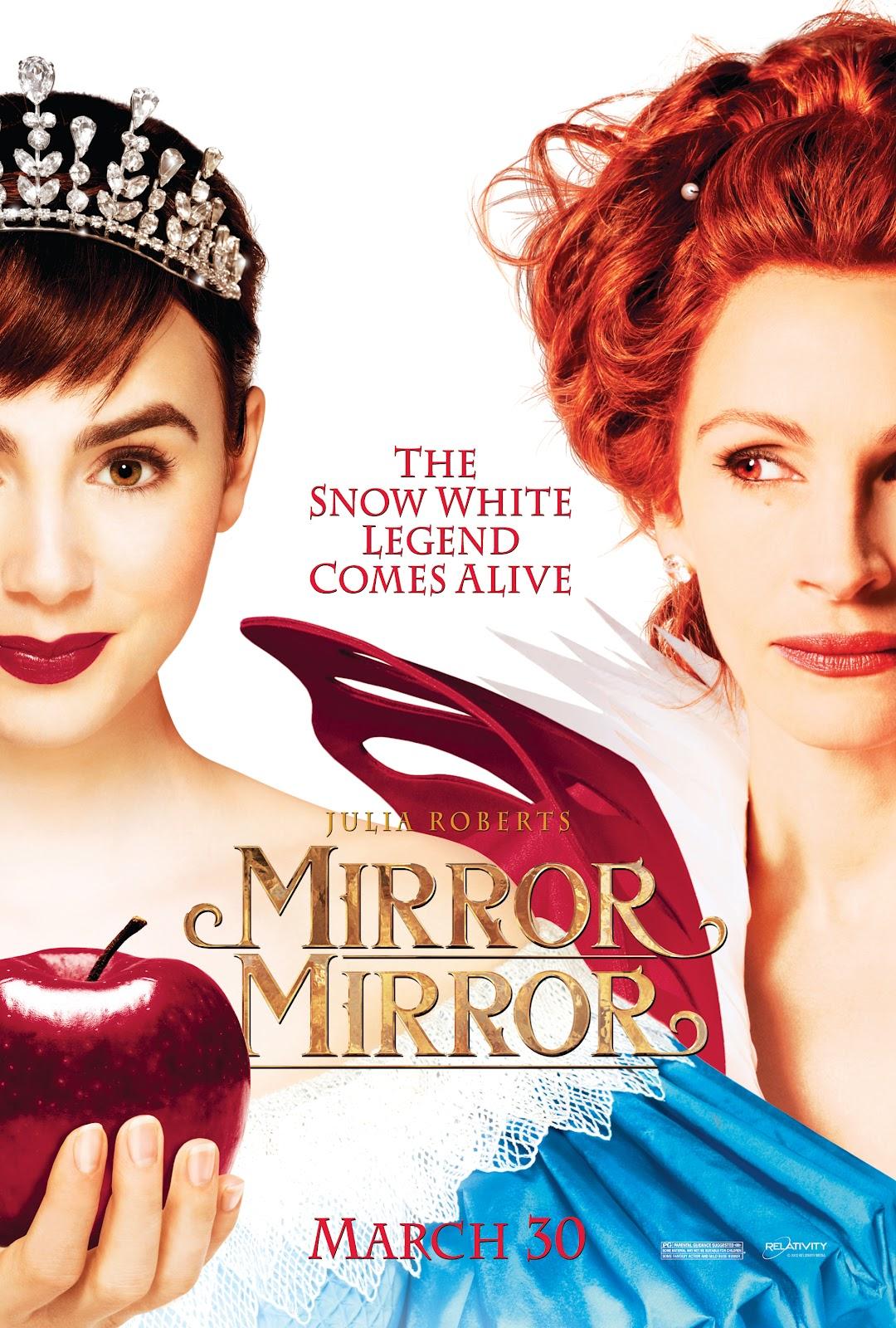 Mirror Snow White Party Favor