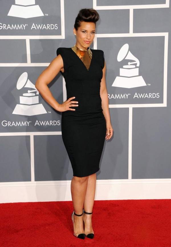 CURVY CELEBRITIES A THE 54TH ANNUAL GRAMMY AWARDS | Stylish Curves