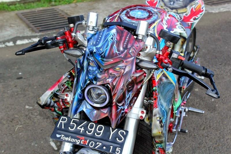 Modifikasi Yamaha Scorpio 2005: Sport Custom Sangar Terbaru